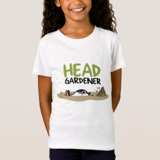 Head Gardener Illustration T-Shirt