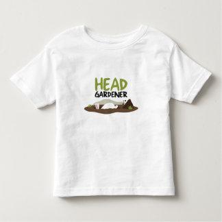 Head Gardener Illustration Toddler T-shirt