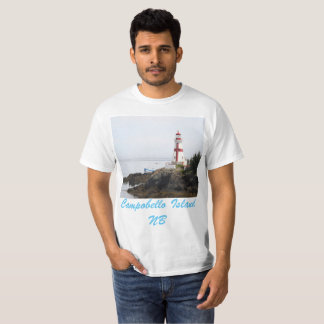 Head Habour Lightstation - Campobello Island NB T-Shirt
