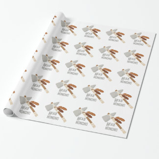 Head Honcho Wrapping Paper