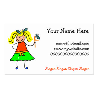 Head Lice Kid Pack Of Standard Business Cards