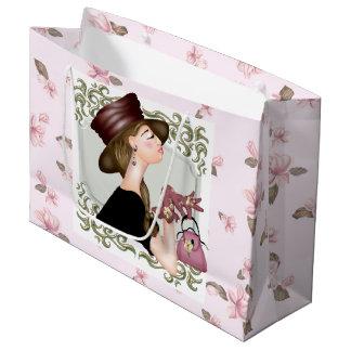 HEAD MODEL CARTOON  Gift Bag - Large