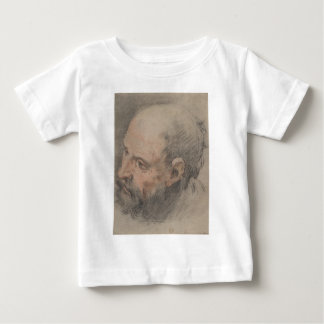 Head of a Bearded Man Looking Left Baby T-Shirt