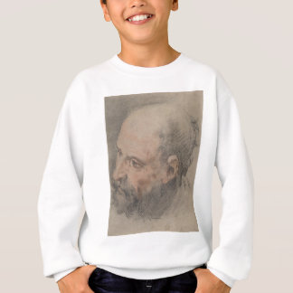 Head of a Bearded Man Looking Left Sweatshirt