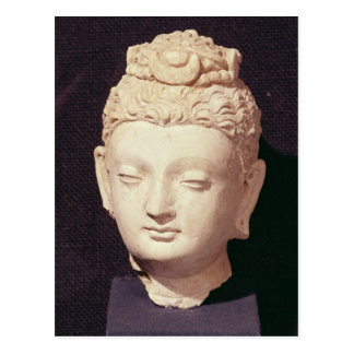 Head of a Buddha, Greco-Buddhist style Postcard