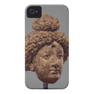 Head of a Buddha or Bodhisattva iPhone 4 Cases