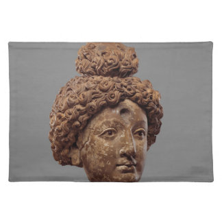 Head of a Buddha or Bodhisattva Placemat