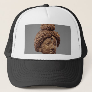Head of a Buddha or Bodhisattva Trucker Hat
