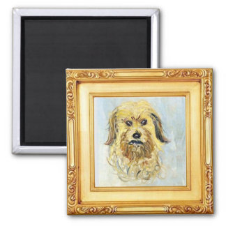 Head of a Dog by Claude Monet Magnet