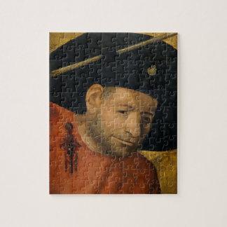Head of a Halberdier by Hieronymus Bosch Jigsaw Puzzle