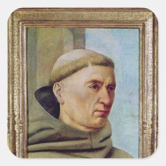 Head of a Monk Sticker