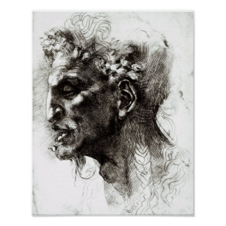 Head of a Satyr Poster