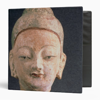 Head of a statue of Buddha, from Bezeklik 3 Ring Binders