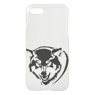 Head of a Wolf iPhone 7 Clearly™ Deflector Case