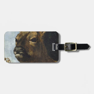 Head of a Young Doe by Gustave Courbet Bag Tag