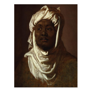 Head of an African Man Wearing a Turban by Rubens Postcard