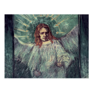 Head of an Angel, after Rembrandt, 1889 Postcard
