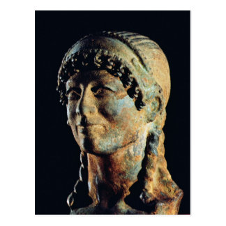 Head of an Etruscan Woman Postcard