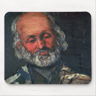 Head of an Old Man, c.1866 Mouse Pad