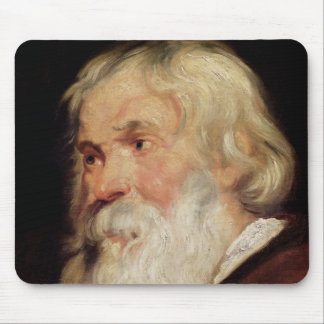 Head of an Old Man Mouse Pad