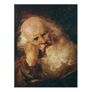 Head of an Old Man Postcard