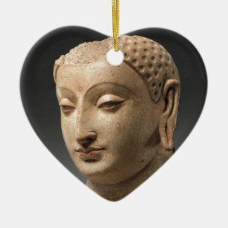 Head of Buddha - 5th–6th century Ceramic Ornament