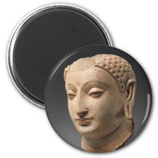 Head of Buddha - 5th–6th century Magnet