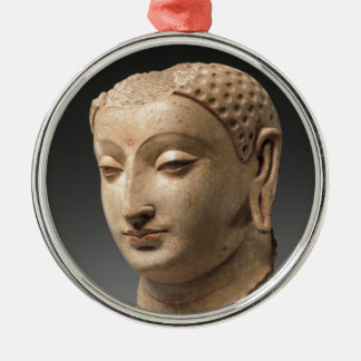 Head of Buddha - 5th–6th century Metal Ornament