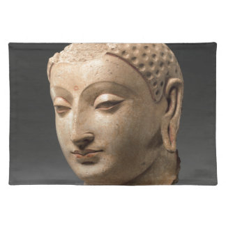 Head of Buddha - 5th–6th century Placemat