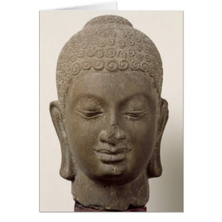 Head of Buddha, from Vat Romlok Card