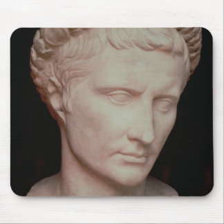 Head of Caesar Augustus Mouse Pad