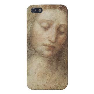 Head of Christ by Leonardo daVinci iPhone 5/5S Cover