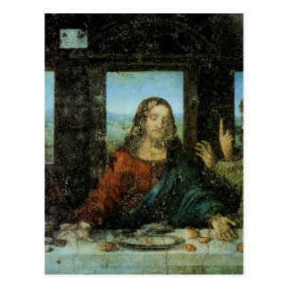 Head of Christ from The Last Supper Postcard