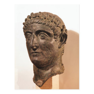 Head of Constantine the Great Postcard