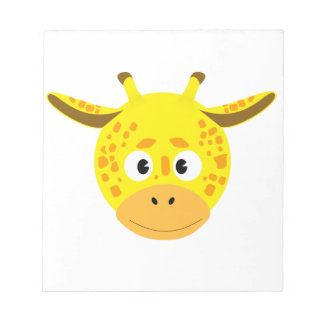 Head of Giraffe Notepad