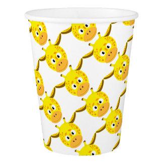 Head of Giraffe Paper Cup