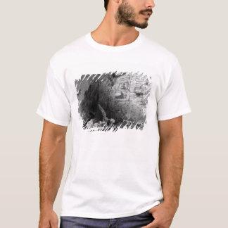 Head of Itzam Na, Izamal, Yucatan, Mexico, 1844 T-Shirt