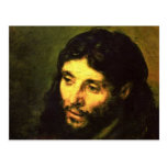 Head of Jesus By Rembrandt Post Card