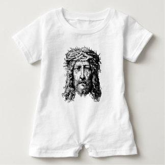 Head of Jesus Christ Baby Romper