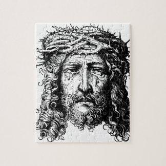 Head of Jesus Christ Jigsaw Puzzle