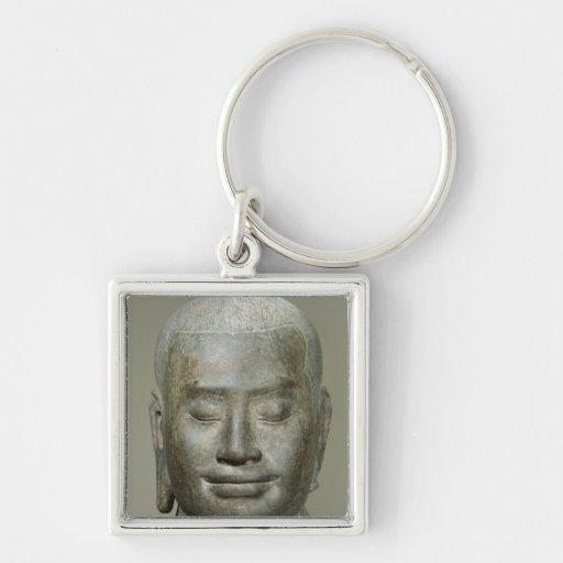 Head of King Jayavarman VII Key Chains