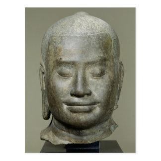 Head of King Jayavarman VII Postcard