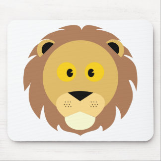 Head of Lion Mouse Pad