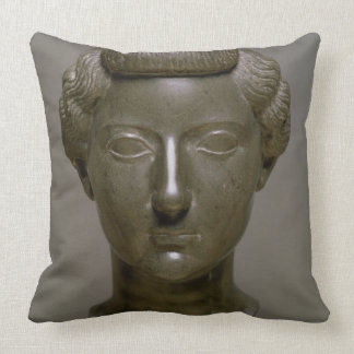 Head of Livia Drusilla (56 BC-29 AD) Roman, c.30 B Throw Pillow