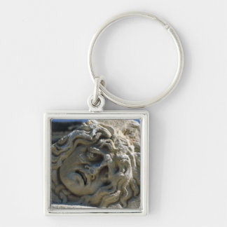 Head of Medusa Keychain