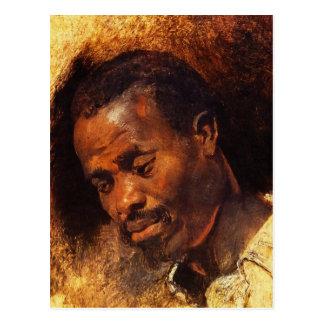Head of Negro by Peter Paul Rubens Postcard