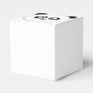 Head of Panda Favor Box