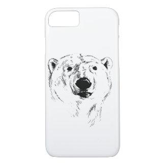 Head of Polar Bear iPhone 8/7 Case