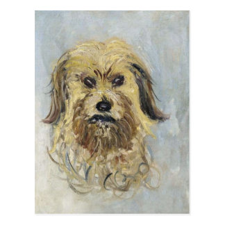 Head of the Dog by Claude Monet Postcard