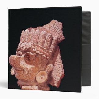 Head of the Mayan corn god, Oaxaca, c.500 AD Vinyl Binder